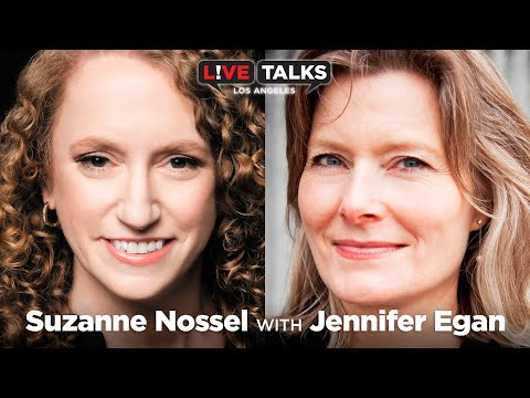 Suzanne Nossel, CEO of PEN America, in conversation with Jennifer Egan at Live Talks Los Angeles