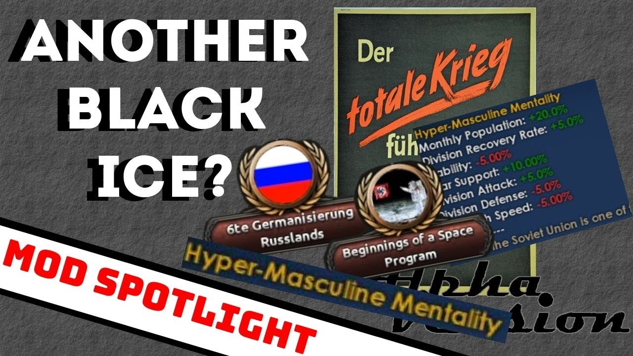 ANOTHER BLACK ICE? - Totaler Krieg: HOI4 Mod Spolight (61)
