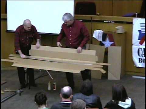 Cardboard boat building school 2012 vietsub