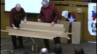 Cardboard Boat Building School 2012