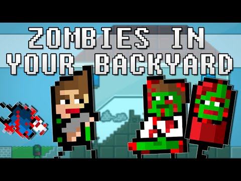 ZOMBIES IN YOUR BACKYARD!! | Free Game
