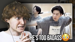 HE'S TOO BADASS! (SUGA's Daechwita Sword Dance Practice | Reaction/Review)