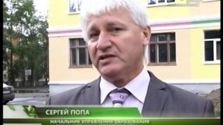 МИНИСТР ОБРАЗОВАНИЯ С ПРОВЕРКОЙ РЕМОНТА ШКОЛ
