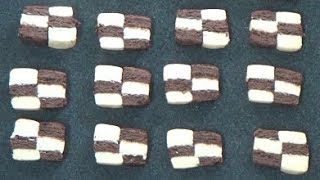 Checkerboard Cookies | How to Make Checkerboard Cookies | easy recipe by easy cooking with Shazia