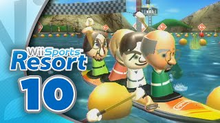 Wii Sports Resort: Part 10 | Canoeing (4-Player)