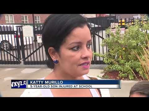 Mother outraged after 5-year-old breaks both arms at metro Detroit elementary school