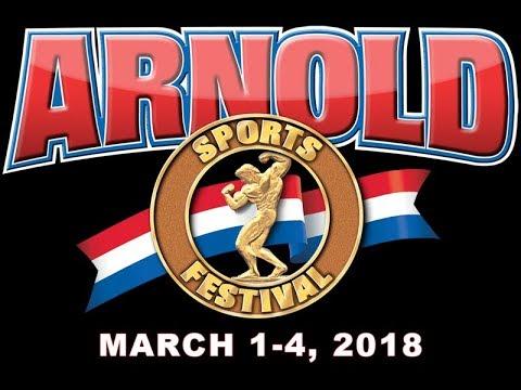 Arnold Classic Columbus Ohio 2018 Opening Ceremony