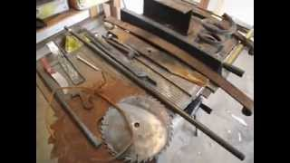 Scrap metal for starting blacksmithing