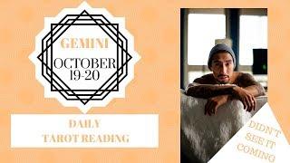 "Video GEMINI - ""SOMETHING UNEXPECTED HAPPENS"" OCTOBER 19-20 DAILY TAROT READING download MP3, 3GP, MP4, WEBM, AVI, FLV Oktober 2019"