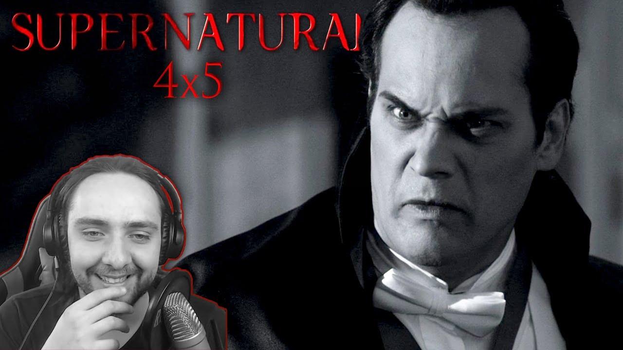 "Download Supernatural Season 4 Episode 5 REACTION ""Monster Movie"""