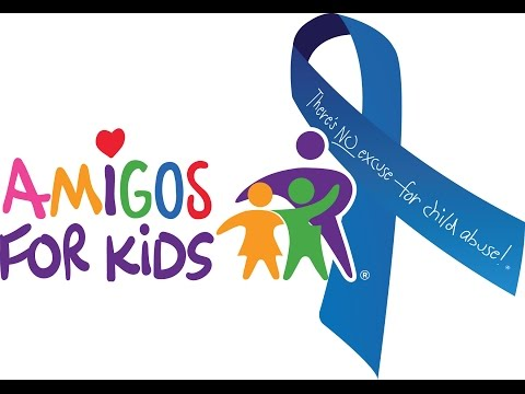 Amigos For Kids Blue Ribbon Awareness Event