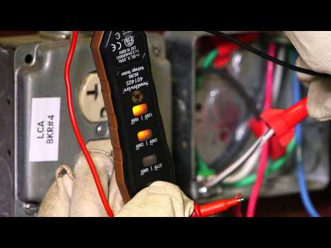 Klein- Dual Range Non-Contact Voltage Tester from YouTube · Duration:  1 minutes 27 seconds