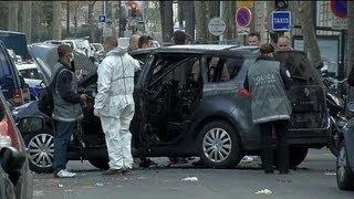 Paris: attaque d'une voiture de convoi de fonds dans le XVIIe - 18/04
