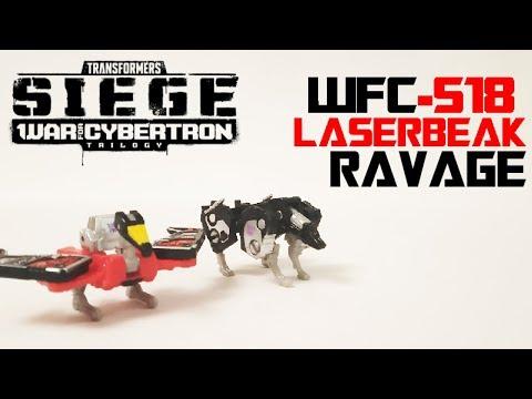 Обзор на TRANSFORMERS SIEGE - Laserbeak & Ravage (WFC-S18)