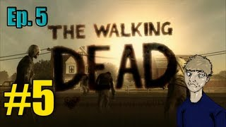 """The Walking Dead """"Episode 5: No Time Left"""" Walkthrough/Gameplay Part 5 - ClemClem to the Rescue"""