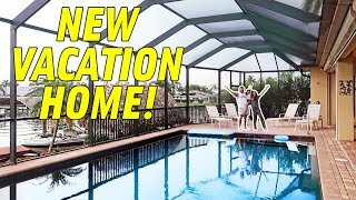 OUR NEW VACATION HOME!!! *SECRET LOCATION*