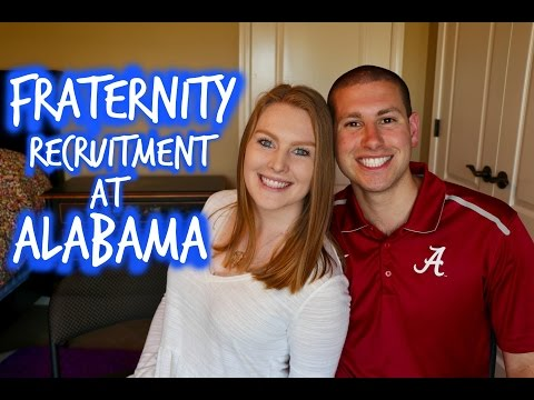 Rushing At The University of Alabama | Fraternity Recruitment