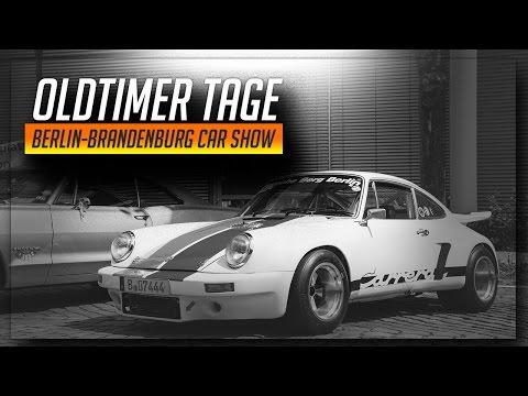 Classic Germans & American Muscle | Oldtimertage Berlin-Brandenburg Motorshow 2017
