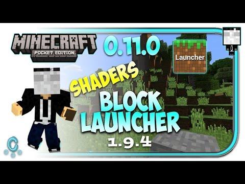 Block Launcher Para Minecraft Pocket Edition 0.11.0 Build 13 Apk - Shaders