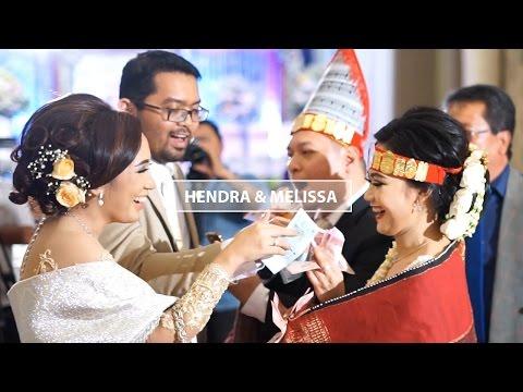 Hendra & Melissa - Pemberkatan dan Adat Batak