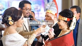 Wedding Cinematic Hendra & Melissa - Pemberkatan dan Adat Batak
