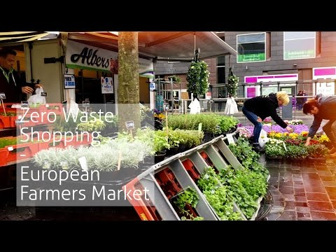 Zero Waste Lifestyle - Follow me around: Farmers Market