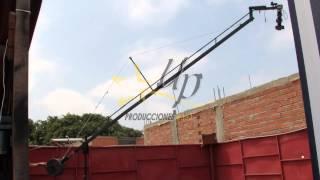 Pan Tilt Head -Cabeza motorizada de Grúa para Cámara -LIMA -PERU