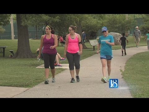 Walking toward wellness in Lafayette Parks