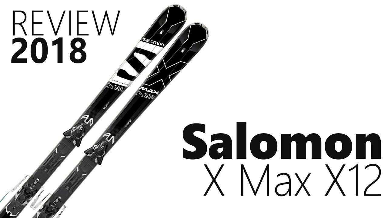 81c4d02b8b17 Salomon X MAX X12 2018 Ski Review - We Test We Know - YouTube