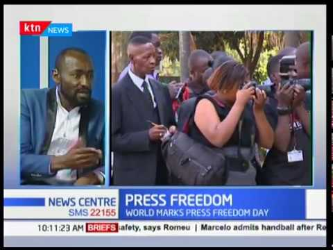 Journalist Thuku Kariuki on the state of press freedom in the country