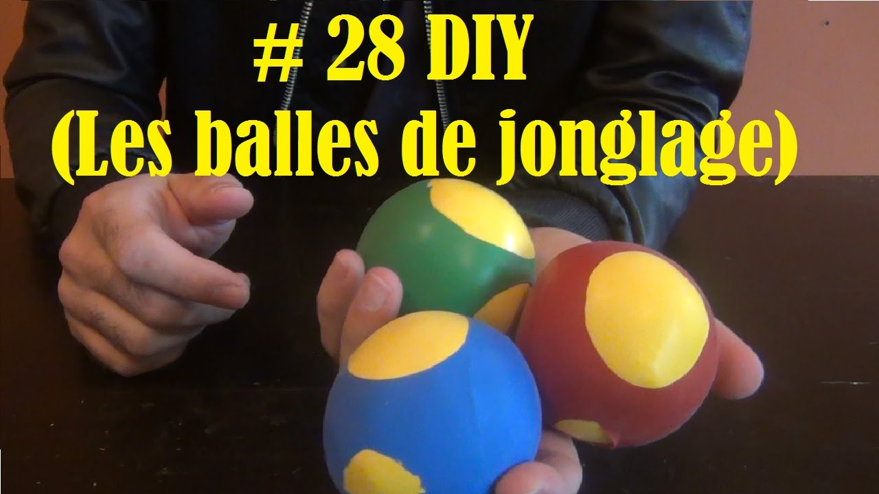 diy bricolage faire la maison 29 les balles de jonglage youtube. Black Bedroom Furniture Sets. Home Design Ideas