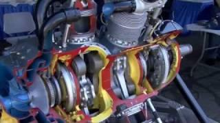 Pratt & Whitney R-2800 Double Wasp Cutaway