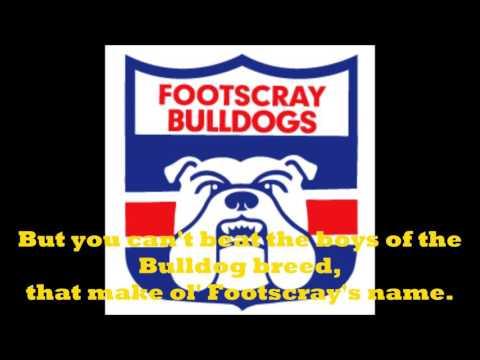 Footscray Bulldogs theme song (Lyrics)