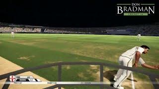 Big Ant's Don Bradman Cricket 2014 Pc gameplay