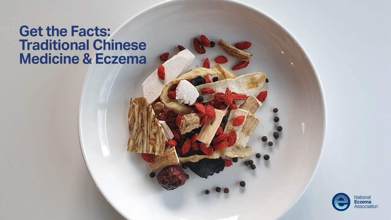 How does traditional Chinese medicine (TCM) dermatology treat eczema?