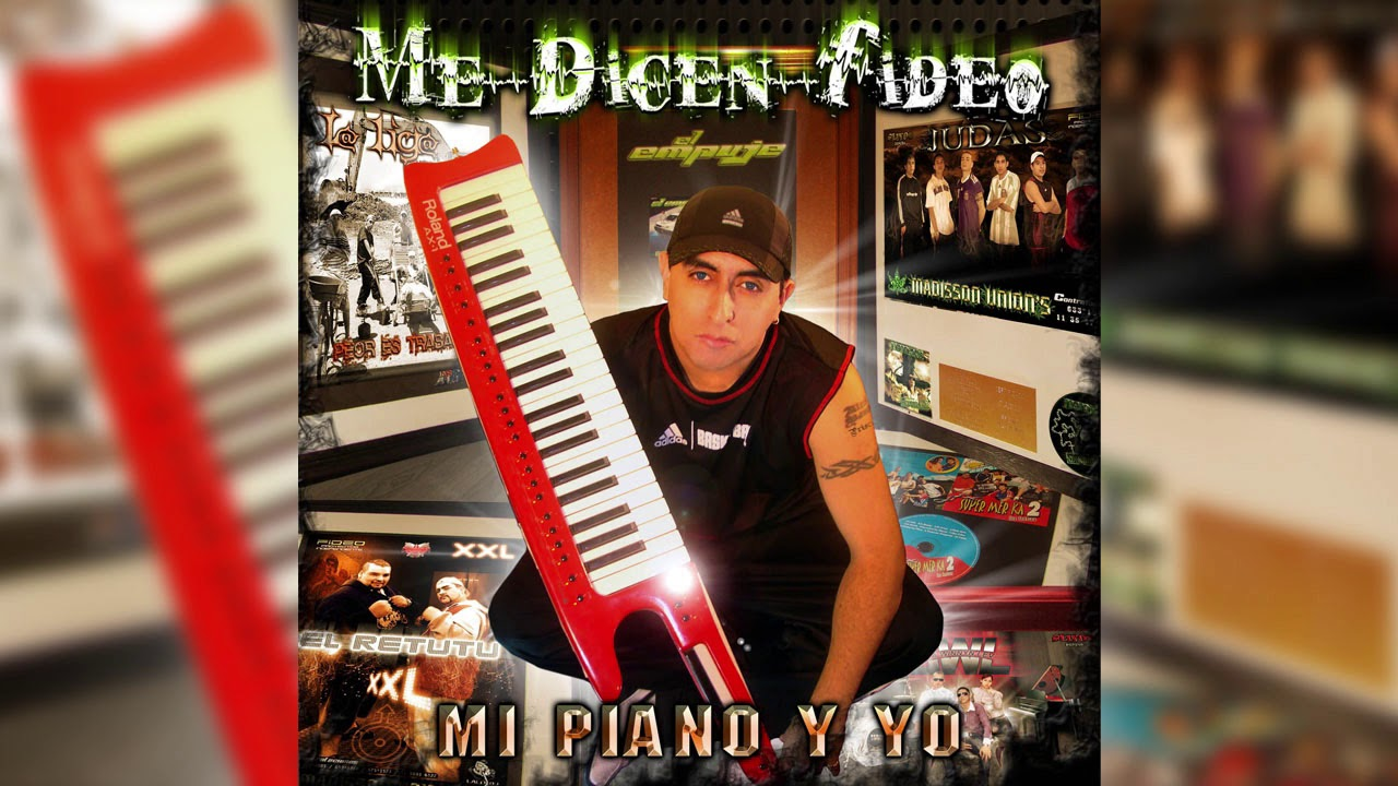 Me Dicen Fideo - Fuerza Djs REMIX│ Cd Mi piano y yo
