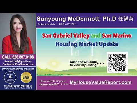 San Marino English Housing Market Update