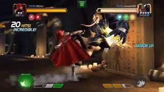 Alliance War Killer Guillotine - 2* Guillotine vs 4* Venom