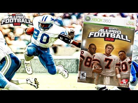 All Pro Football 2K8 HD - You Create the Team   The Season Series!
