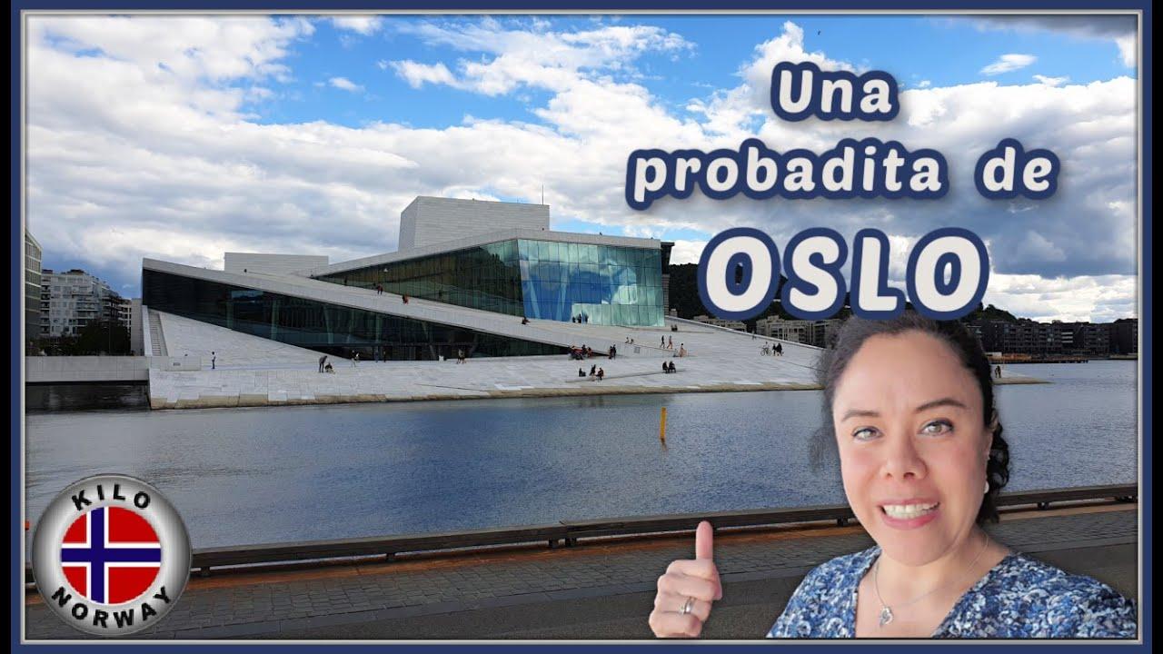 Una probadita de OSLO 😉 Kilo Norway | Vlog 212