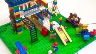 Como construir um Playground de Lego