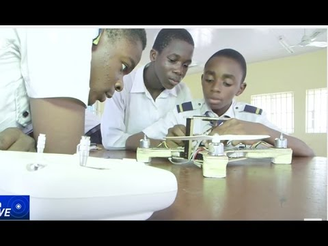 LASPOTECH STUDENT BUILD NIGERIA'S FIRST LOCALLY-MADE DRONE IN LAGOS