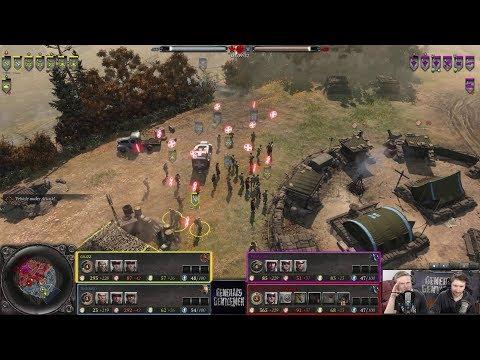 cruzz, Siddolio(Allies) vs Talisman, The Hooligan(Axis) [Company of Heroes 2]