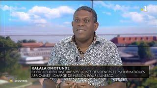 Kalala Omotunde chercheur en histoire charg de mission  l39Unesco invit du Midi Guyane