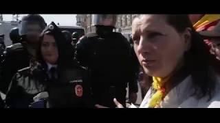 Смотреть видео 1 Мая 2019г Санкт Петербург Разгон демонстрации..!  часть2 онлайн
