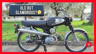 🏍️ Honda SS90 [ REVIEW and RIDE ] – 1968 – A Japanese Retro Classic