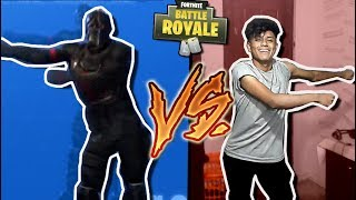 FORTNITE BAILES IN REAL LIFE!! | Aaron Cuenca