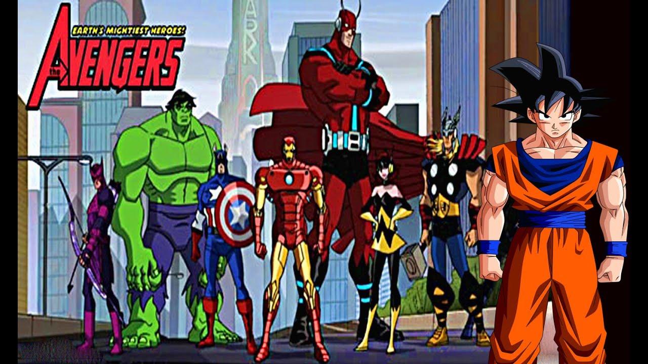 Avengers Parody Porn Subtitulos superboy vs gohan - dc vs dragonball zthefightersden