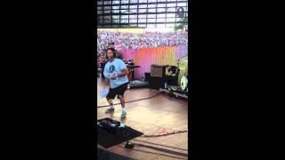 Backstage Footage @ KROQ Weenie Roast 2013 @raffipetro