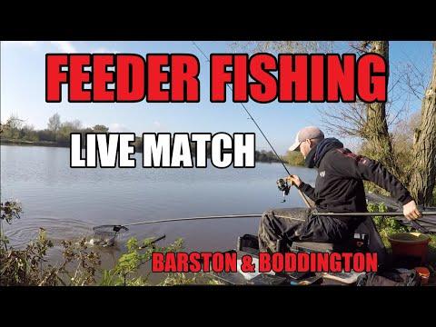 FEEDER FISHING - LIVE MATCH - BARSTON & BODDINGTON - ROB WOOTTON